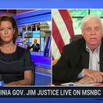 jim justice, governor, stephanie ruhle, msnbc, trans, athlete