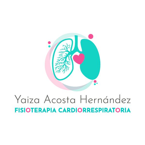 Logo realizado para Yaiza Acosta - Fisioterapia Cardiorrespiratoria en Tenerife