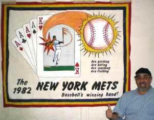 Baseballs Winning Hand...