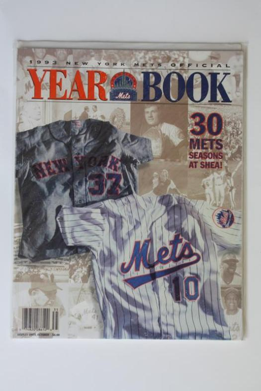 Mets Yearbook 1993