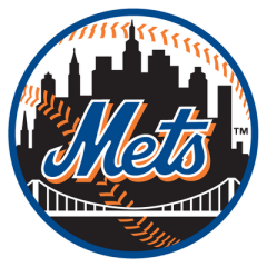 mets black ball logo