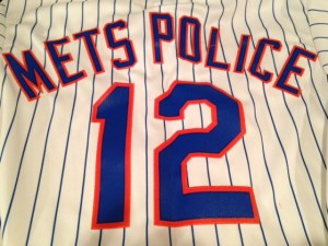 mets metspolice 12 jersey new mets home uniform
