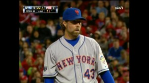 ra dickey blue mets uniform