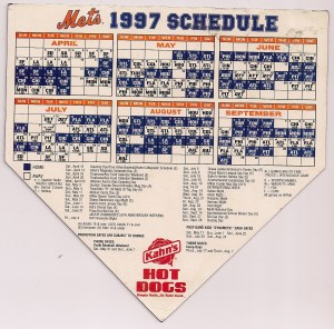 1997 Magnetic Schedule