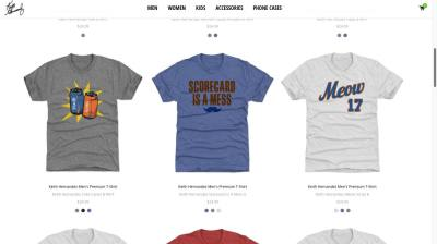 info for 44dcd ef28e The Official Keith Hernandez Shop is selling a t-shirt ...