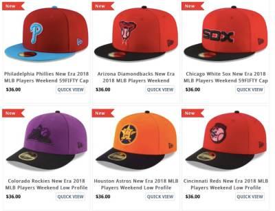 763994aa6 2018 Players Weekend Caps (Mets plus other teams) - The Mets Police