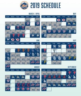 Mets Announce 2019 Schedule Will Honor 1969 Mets The