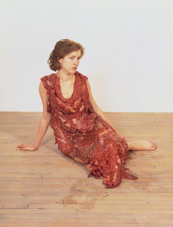 Fleisch Kleid