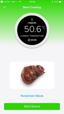 Anova Precision Cooker App