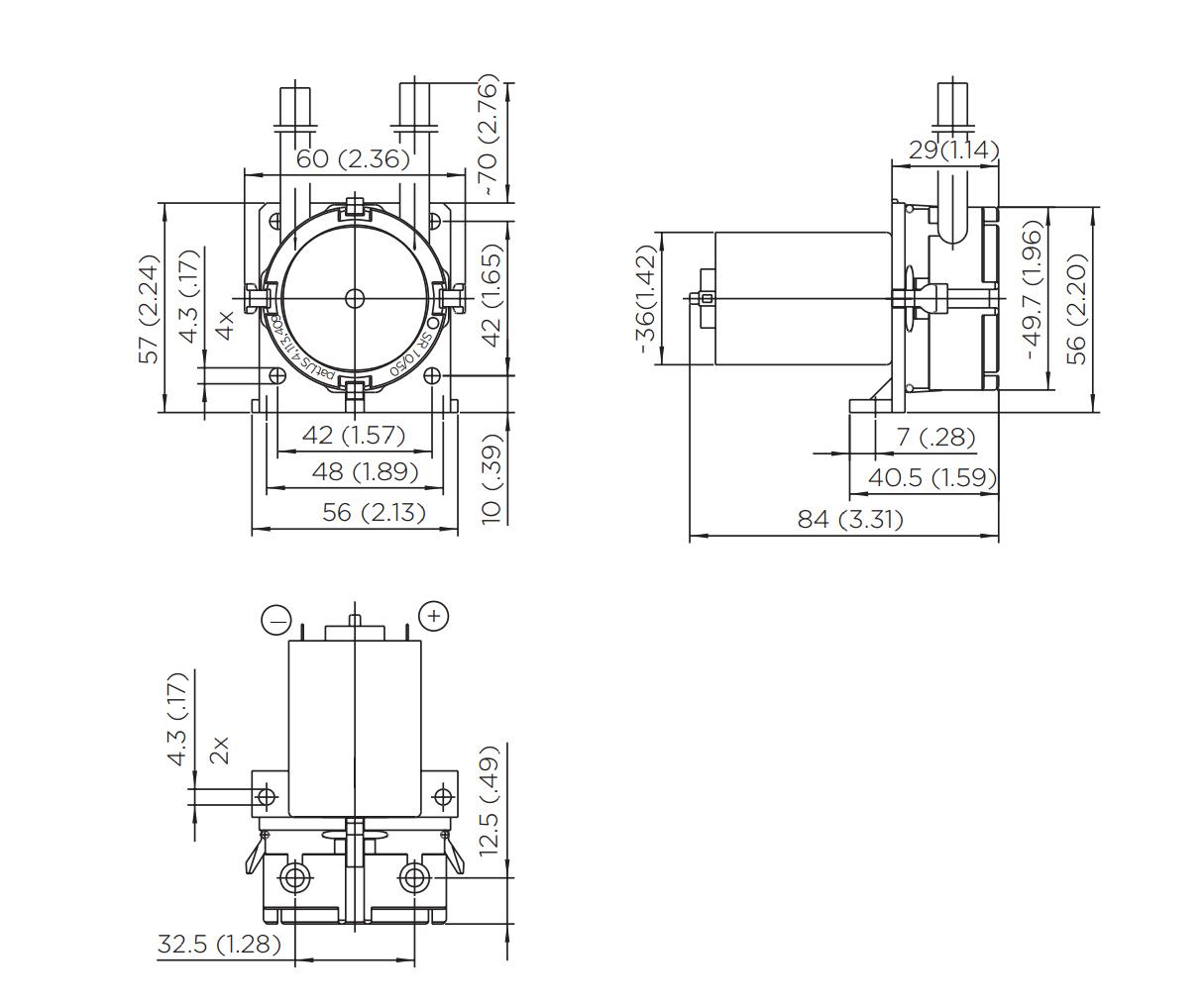 Peristaltic Pump Sr 10 220 Ml Min 8 Mh2o