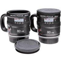 Camera Lens Espresso Mug Set - Metziahs