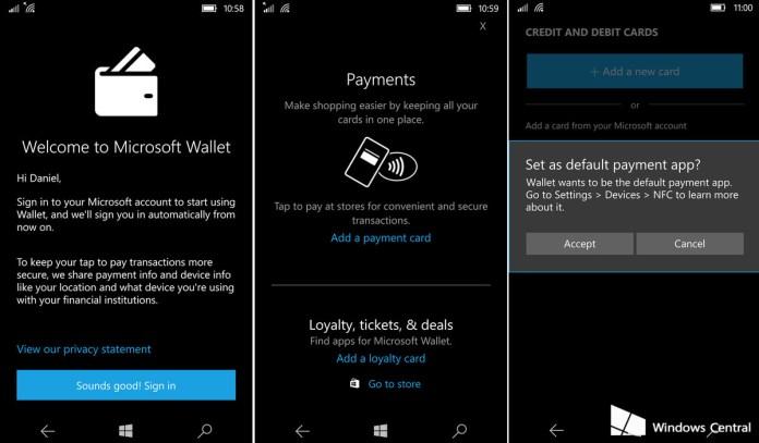 Windows 10 Mobile windows 10 mobile pode finalmente suportar pagamentos via nfc Windows 10 Mobile pode finalmente suportar pagamentos via NFC Carteira 2
