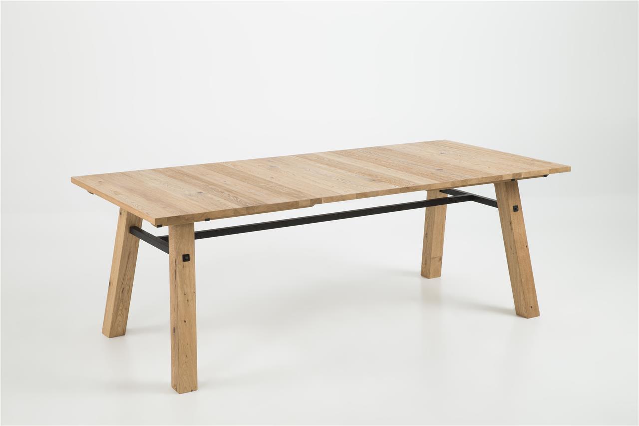 Stoere eiken houten tafel kopen  Meubeldealsnl