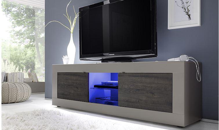 TV meubel mat lak taupe  Meubel Dealsnl
