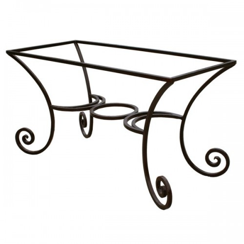 pied table florence fer forge pied table florence fer forge
