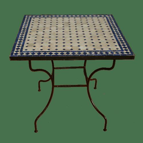 table zellige mosaique ceramique