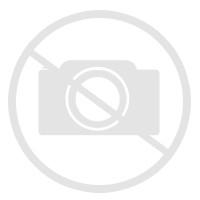 table pied metal et bois massif naturel 180 cm avec 2 allonges zen