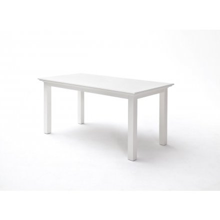 table de repas en bois blanc 200cm