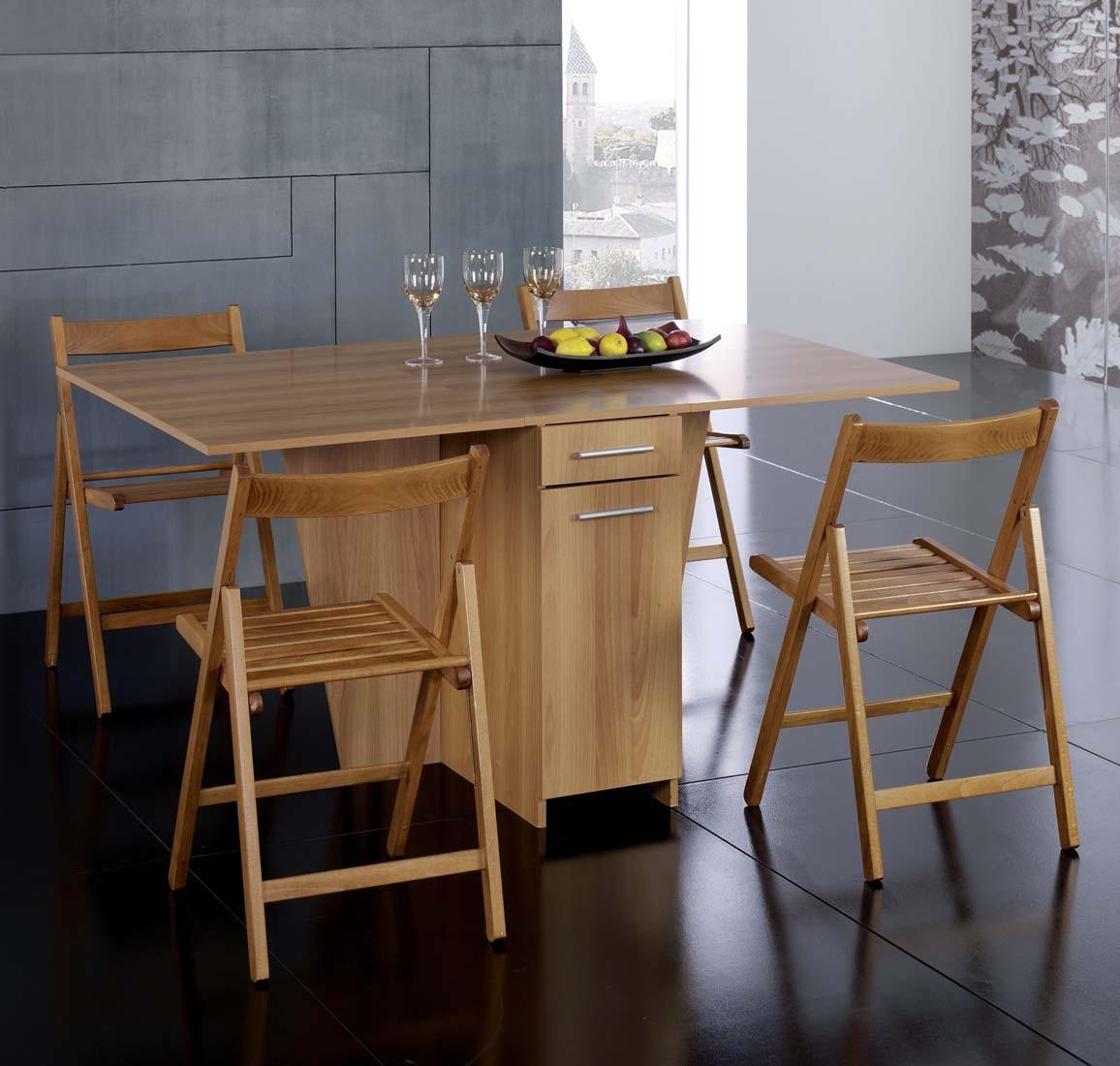table rabattable cuisine paris table pliante chaises