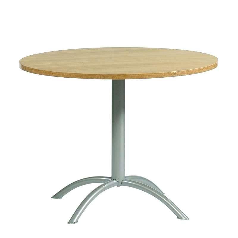 table de cuisine ronde pied central