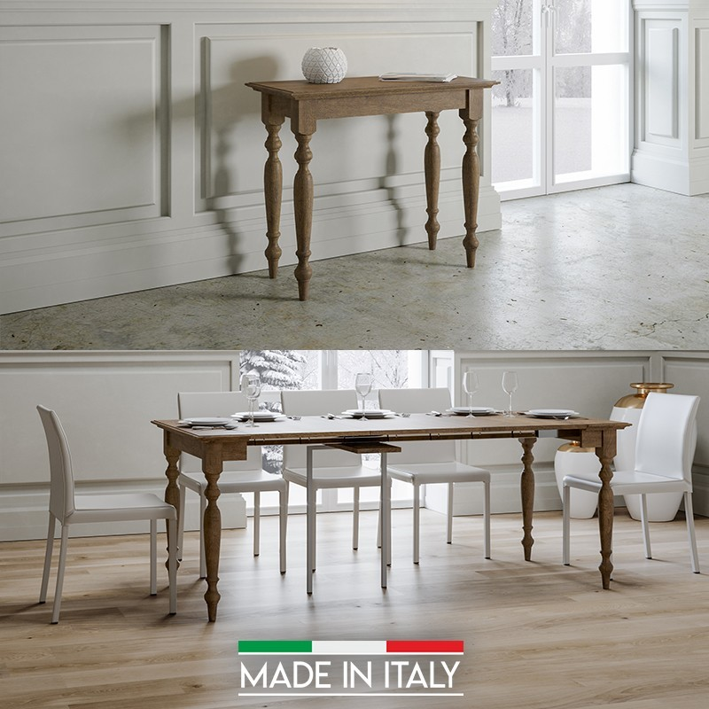 table console extensible bologna