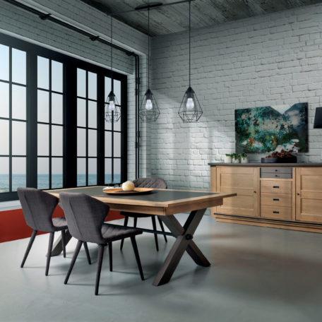 http www meubles gibaud fr shop salle a manger salle a manger salle a manger salle a manger industrielle magellan pieds metal