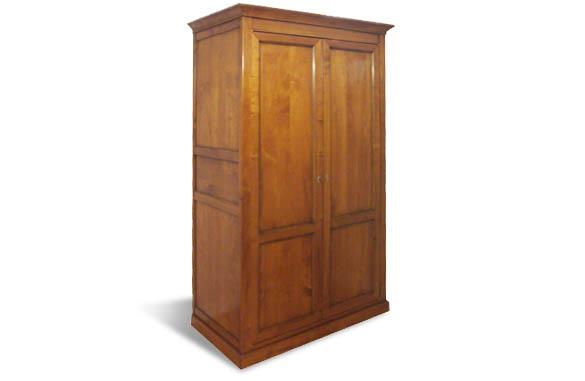 armoire louis philippe 2 portes