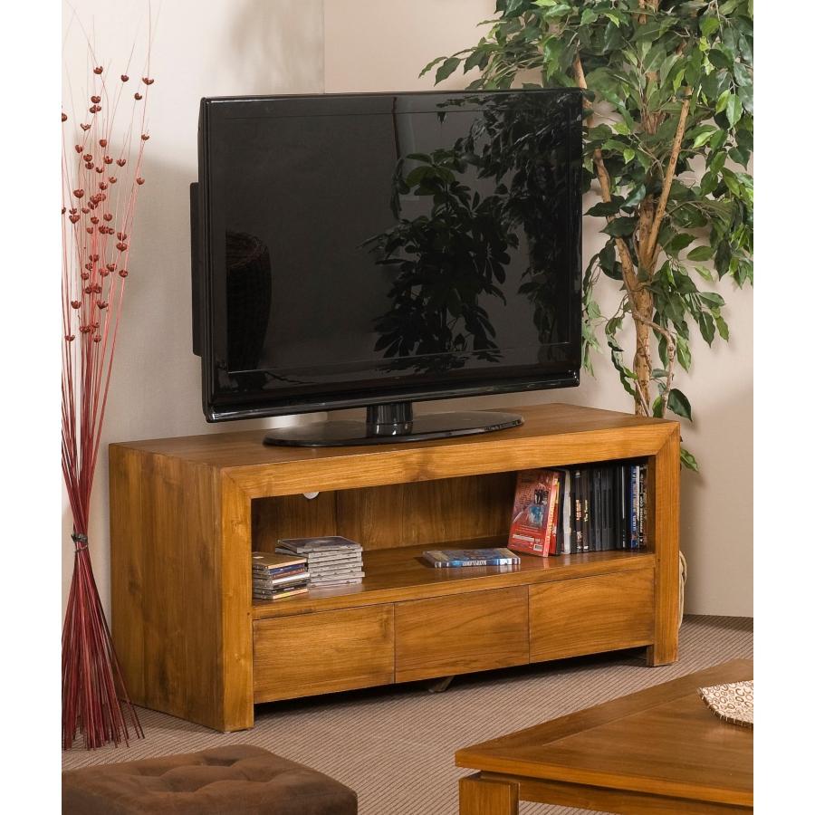 Meuble tv 3 tiroirs teck  Meubles Macabane  meubles et objets de dcoration