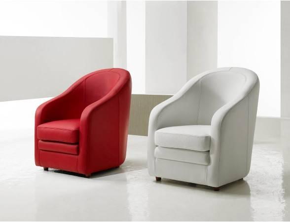 fauteuil cuir classique cabriolet