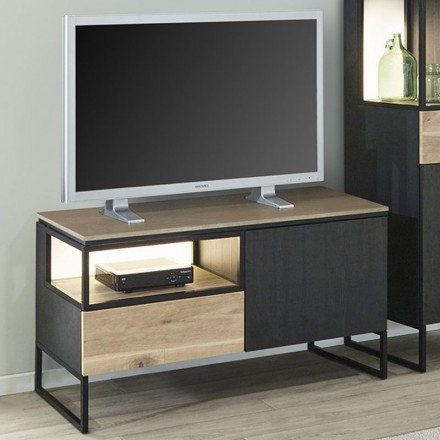 Meuble Tv 120cm En Melamine Portofino