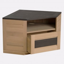 meuble tv 150cm pin massif coopers
