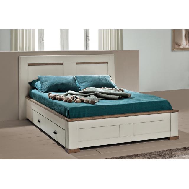 lit avec 2 tiroirs romance etape requise