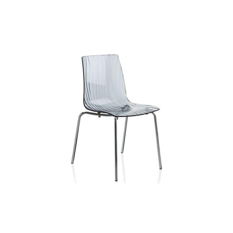 chaise 4 pieds design en polycarbonate