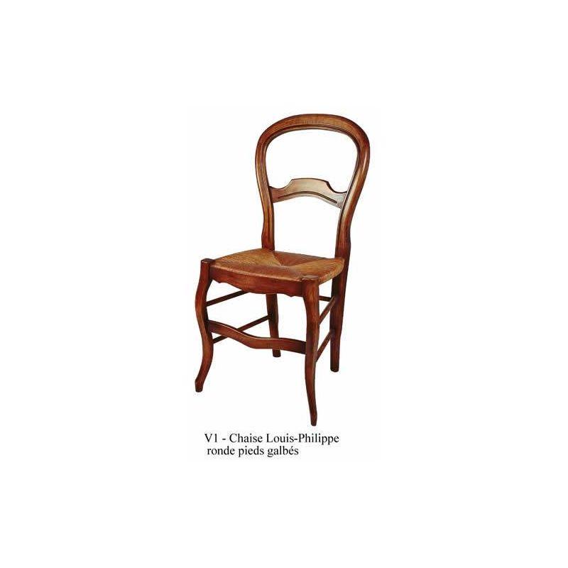 chaise ventoux dos rond