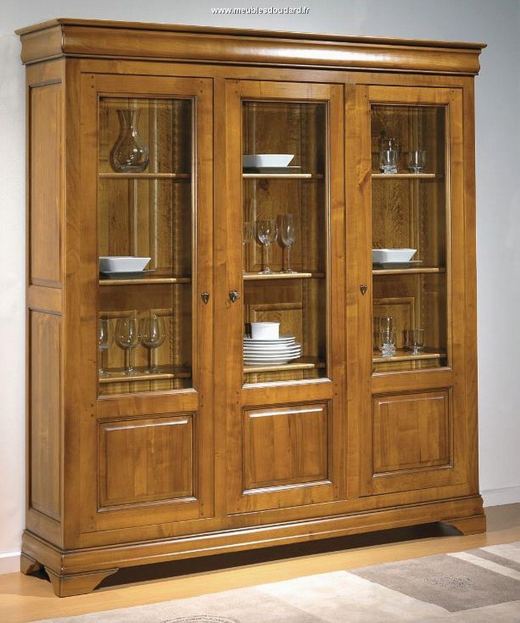 Bibliothque Merisier Armoire Bibliothque Meuble De