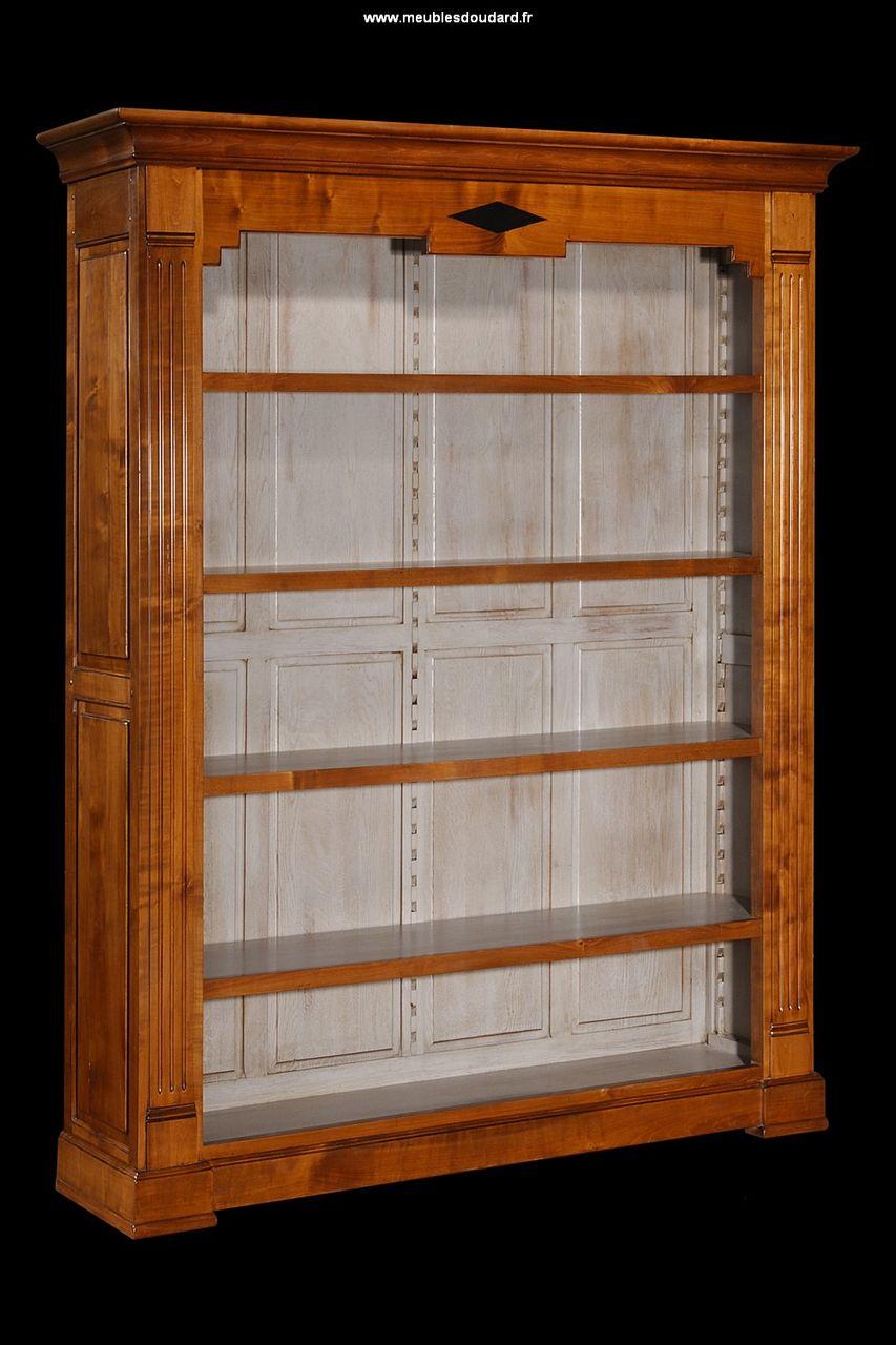 Bibliothque Tagres Bibliothque Directoire Merisier
