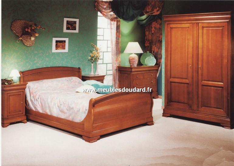 chambre a coucher louis philippe en merisier