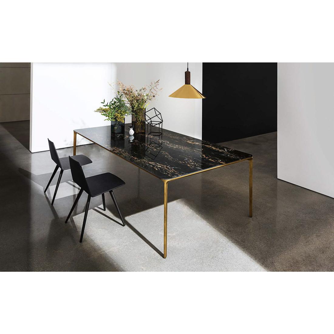 table extensible light marbre meubles