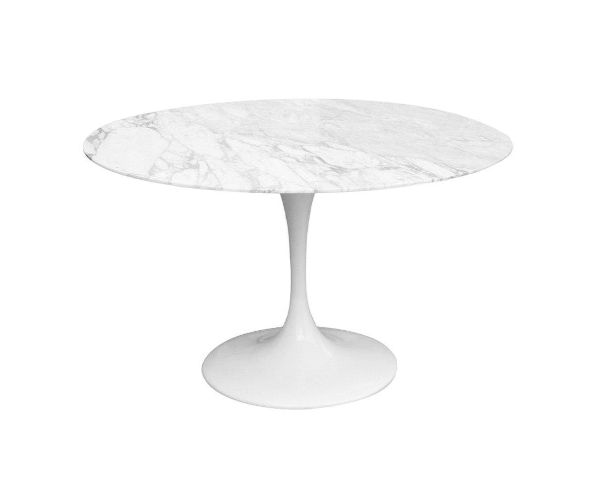 table ronde marbre 120cm flower
