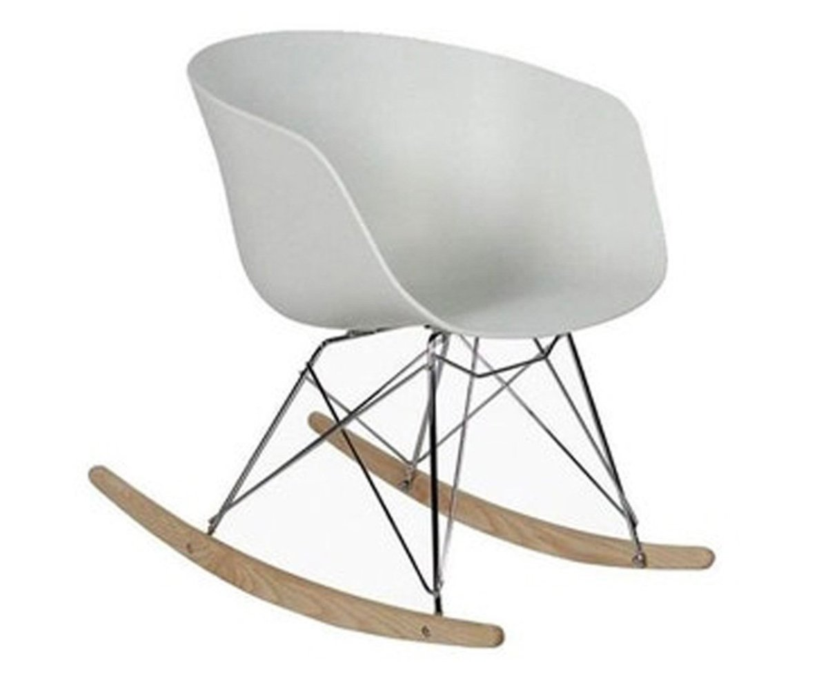 chaise a bascule scandinave design ray