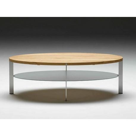table basse ovale link etagere verre nissen gehl naver