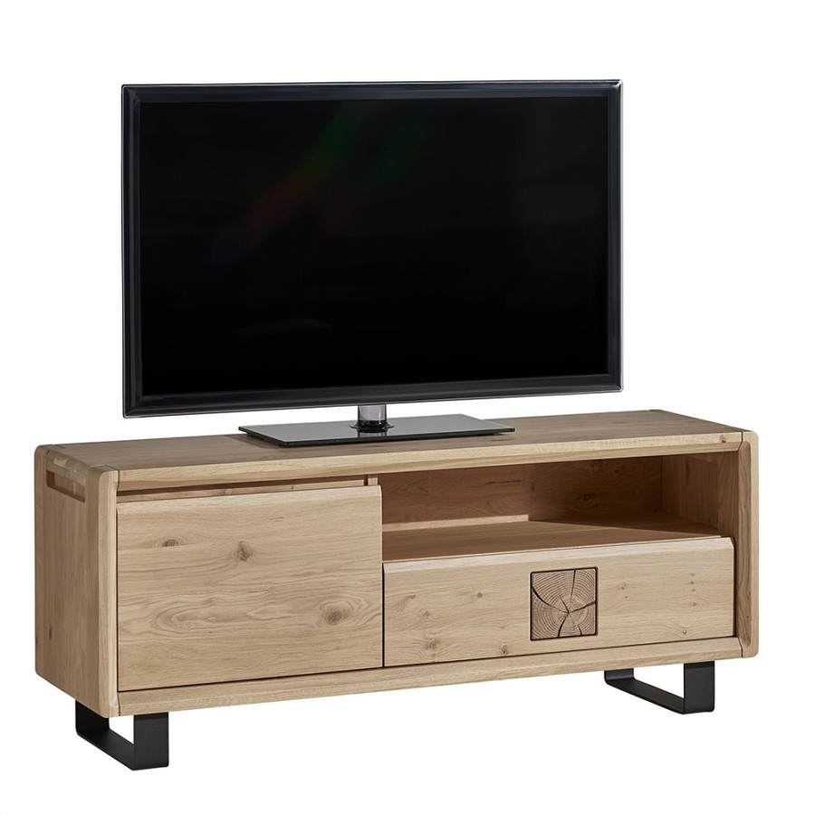 meuble tv eden 140 cm meubles leclerc