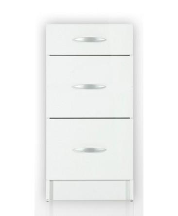 meuble cuisine bas 3 tiroirs 60cm oxane