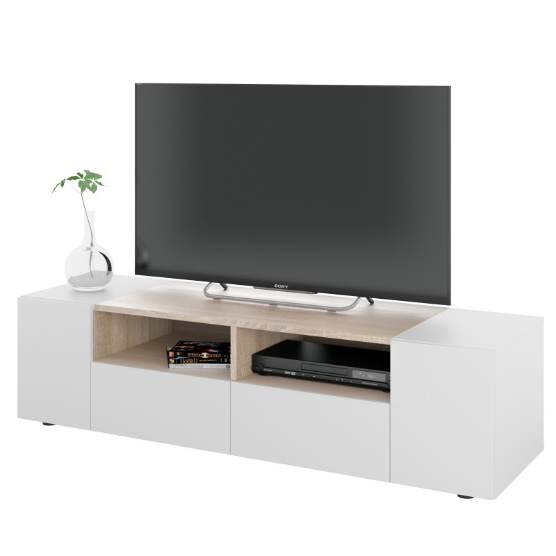 meuble tv scandinave tamiko