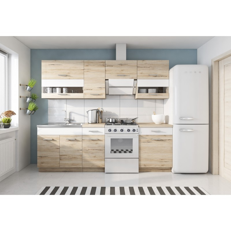 marbella 240 cm cuisine complete design