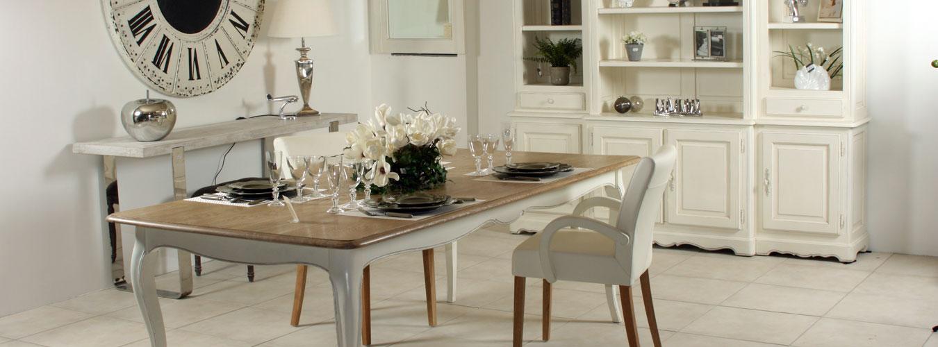 chaise de cuisine blanche pas cher
