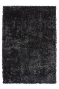 Tapis gris anthracite fluffy