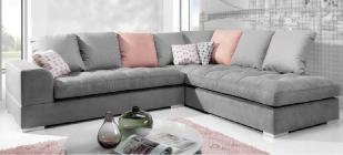 canap rose meublespro. Black Bedroom Furniture Sets. Home Design Ideas