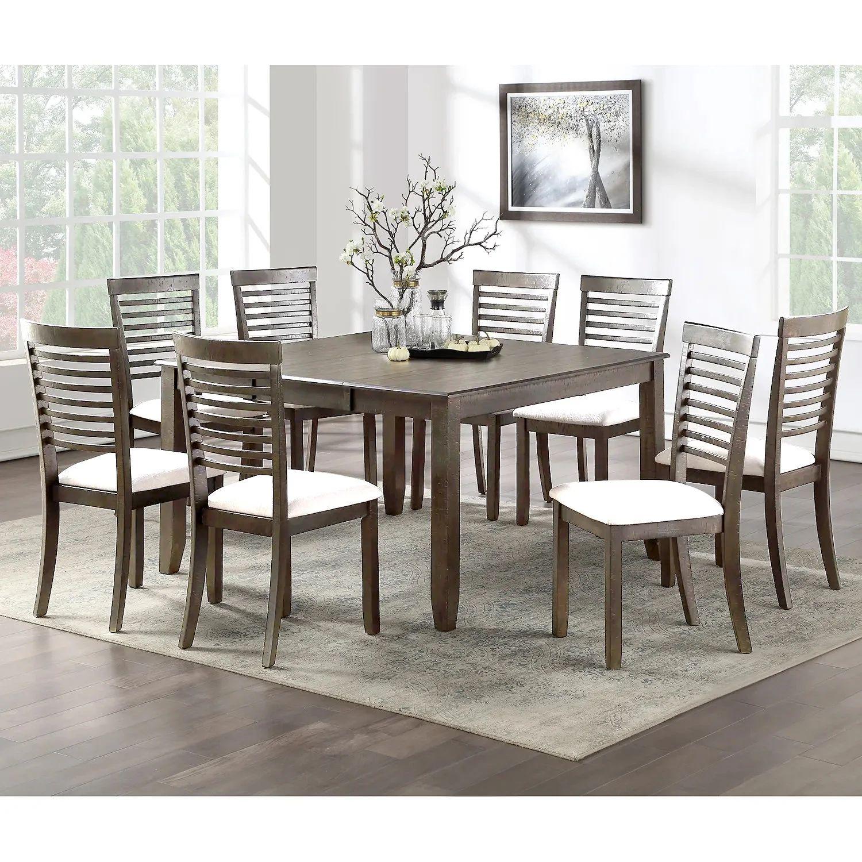 table carree et 8 chaises