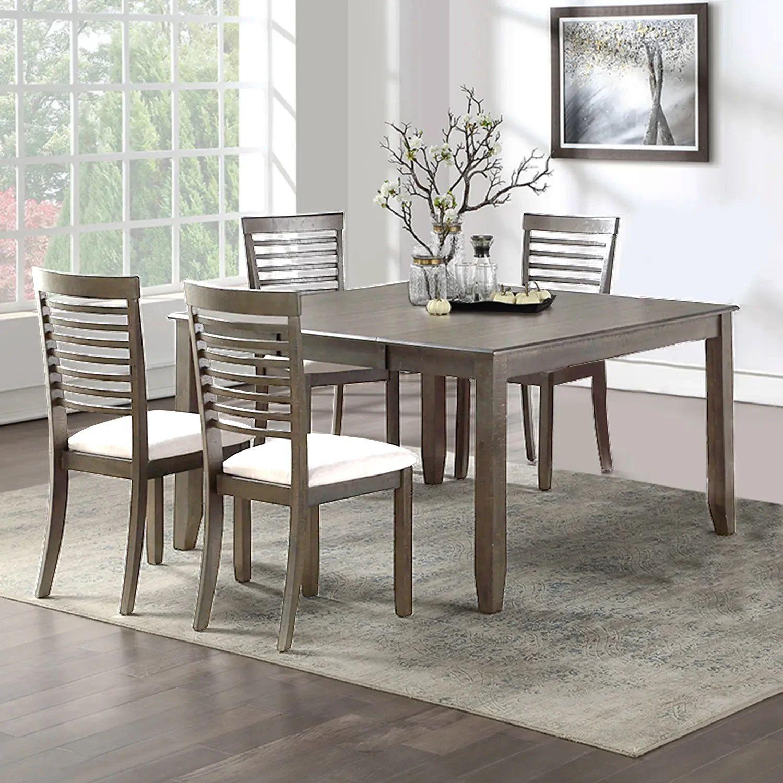 table carree et 4 chaises